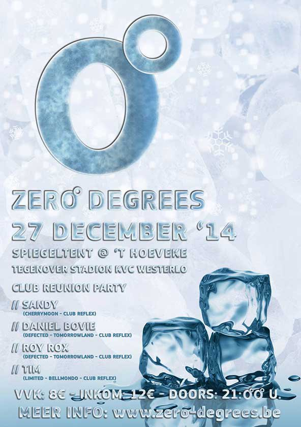 Zero Degrees 1edition